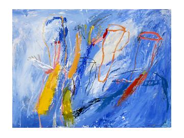 Jardin Potager no 1, Peinture/Painting, 1985