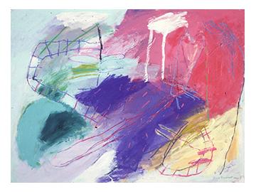 Tribu XVIII, Peinture/Painting, 1985
