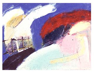 Tribu XIV, Peinture/Painting, 1985