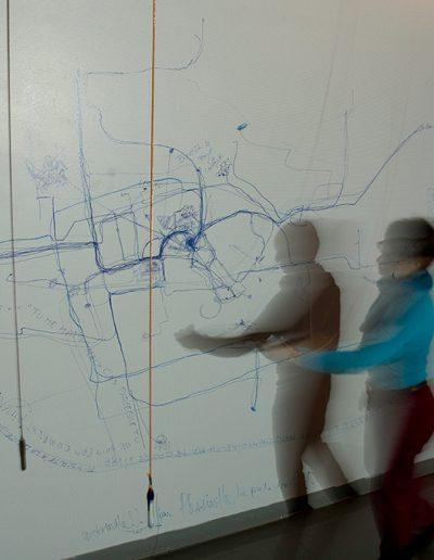 D'où venez-vous? Où allons-nous? (détail) Exposition Écosystèmes, Galerie R3, 2009