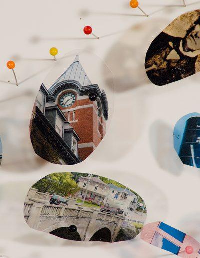 Exposition Épingler le temps, Galerie d'art du Parc, Trois-Rivières, 2013