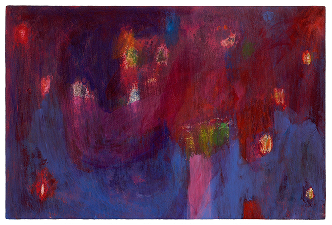Pétarade, Peinture/Painting, 2006