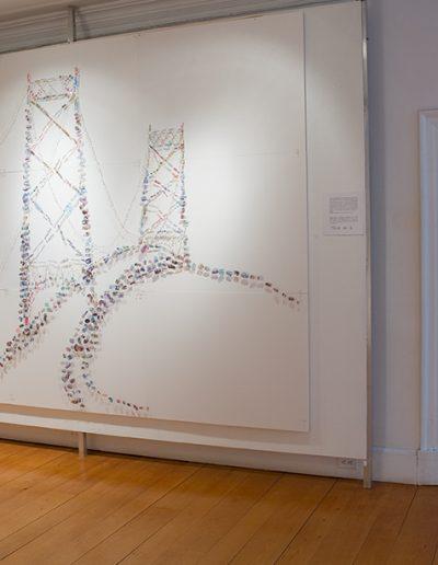 L'Histoire en marche, Vue d'ensemble/Overview, Galerie d'art du Parc, Trois-Rivières, 2013