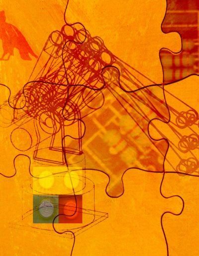 Puzzle 2000, Impression numérique/Digital print, 2000