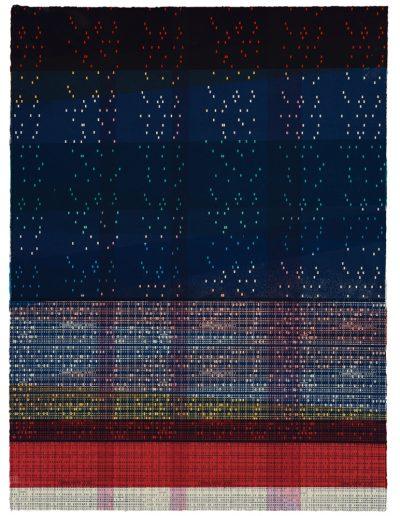 Ondes Sismiques, Variante II/XXV Sérigraphie/Silkscreen, 2019