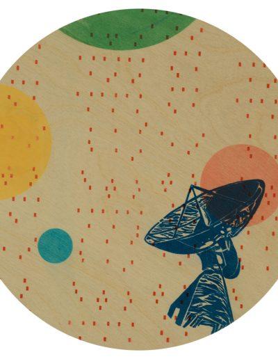 Lieu des possibles(détail), sérigraphie/Silkscreen, 2019